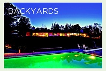 Backyards (Home Elements) / It's no surprise that many of the homes in the San Francisco Bay Area have tremendous backyards to take full advantage of the California climate. From the Bay Area and beyond, here is a look at some of the finest backyards from Alain Pinel Realtors.