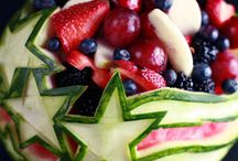 Patriotic Red, White & Blue Recipes / Whether it's Memorial Day, Fourth of July, President's Day or Labor Day, red, white and blue dishes from appetizers to desserts are always on the menu.
