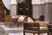 марокко интерьер