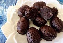 çikolatalı ikramlıklar