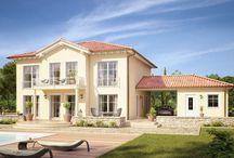 Häuser und Grundrisse