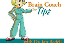 Brain Coach Tips / Practical brain building tips, proven life-changing principals to make life and learning easier. Your host, Jan Bedell, PhD, started a journey in 1992 that transitioned her from desperate home school mom of a struggling learner into a Master NeuroDevelopmentalist.