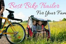 Take A Look! We Found The Best Bike Trailer For Your Family!