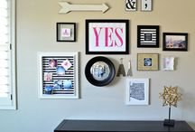 Gallery Wall Inspiration / by Crafts Direct