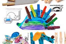 nápady pro tvorbu s dětmi / nápady na tvoření s nejmenšími dětmi
