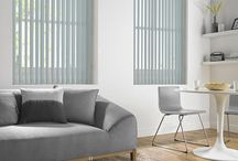 Vertical Blinds / The most versatile of products, our range of 470 fabrics comprises of a variety of colours and textures to suit all environments. Using a sleek, slim-line system, operation is smooth and simple, allowing the blinds to tilt, turn or be stacked to either side of the window for complete light control.