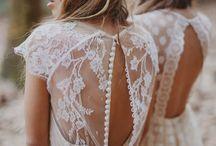 Lovely boho wedding dresses