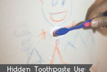 """""""Did you know"""" tricks- other uses of toothbrushes and paste"""
