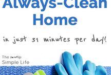 Clean home/Minimalist/Organization