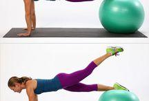 Gymnastikballübungen