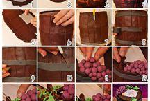 тортики из мастики: бочка и другие интересные украшения тортов
