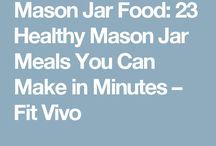 Healthy Mason Jar Food