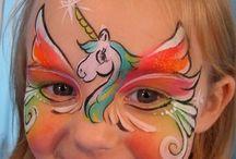 malowanie twazy dzieci