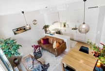 One bedroom colorful apartment in the right measure