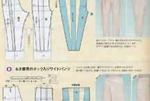 схема брюк