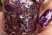 glitter nails (arts )