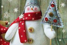 гномики и снеговики