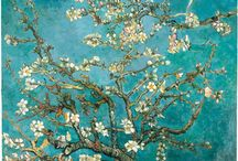 Van Gogh reproductions / Hand-painted Van Gogh reproductions in oil on canvas.