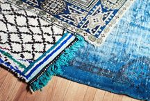 All About Area Rugs / Area rugs are a perfect way to add a comfortable statement to your home. Check out these inspirational ideas for decorating with rugs.