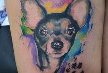 čivava tetování