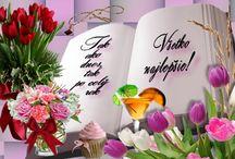 Blahoželania k narodeninám