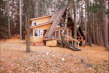 A hus tilbygning