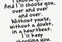 words &  love