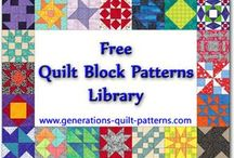 Sewing . quilting patterns