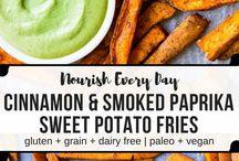 Sweet Potato Side Items