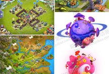 Game World Maps