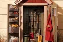 In the yard - Garden sheds