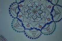 mandala inspired / lines for the heart