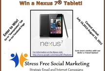 Sweepstakes, Contests and Promotions / by StressFree SocialMarketing