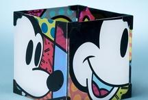 Romero Britto Collectibles / International Artist Romero Britto Disney Collection / by The Disney Fine Art Gallery