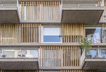 brick facade/ dwelling