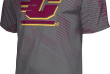 University of Central Michigan / University of Central Michigan - GO CHIPPEWAS ! We've got your maroon and gold right here! Show off your school pride in our comfortable sweaters, shirts, shorts, and more for men and women! Got spirit? See more at sportswearunlimited.com