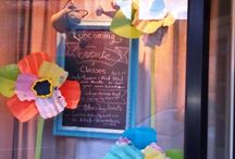 Spring window n displays / Display