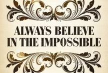 Believe You Are Awesome