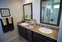 Bathrooms by California Home Builders / We all need to use them, may as well use the best.  California Home Builders - http://www.calhomebuilders.com/