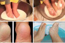 Cuidados com os pés e mãos