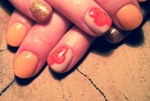 Nails done by me / Pictures of sculpted nails I did for my friends, mom or myself