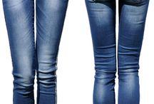 Spodnie Jeans Lampasy w Azteckie Wzory #435 FASHIONAVENUE.PL