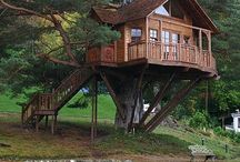 Treehouses / by Kris Moulaison