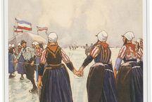 Schaatsen / Old Dutch popular winter sport