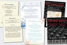 Directions & Accommodations Cards