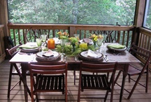 Porches & Outdoor Rooms / by KathyMillerTime