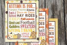 Free Fall Printables, Create An Autumn Mood