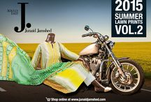 Summer Lawn Prints Vol.2 /   / by J. Junaid Jamshed (Private) Limited.
