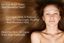 Hair Care With Coconut Oil