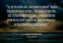 Wings of Dekland / High, epic fantasy Wattpad ebook. Extracts, quotes and more!